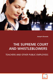 The Supreme Court and Whistleblowers by Joseph Oluwole image