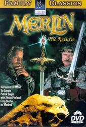 Merlin - The Return on DVD