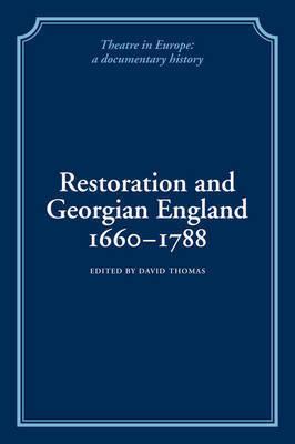 Restoration and Georgian England 1660-1788