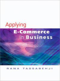 Applying E-Commerce in Business by Rana Tassabehji image