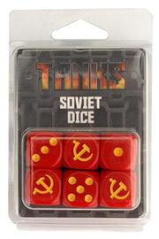 TANKS: Soviet Dice Set (6pc)