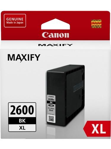 Canon Ink Cartridge - PGI2600XLBK (Black High Yield)