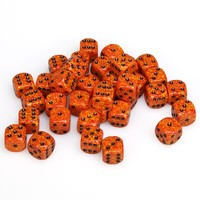 Chessex: D6 Speckled Cube Set (12mm) - Speckled Fire image