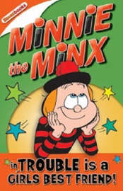 Minnie the Minx in Trouble is a Girls Best Friend by Rachel Elliot image