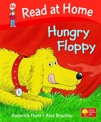 Read at Home: Level 4b: Hungry Floppy by Roderick Hunt image