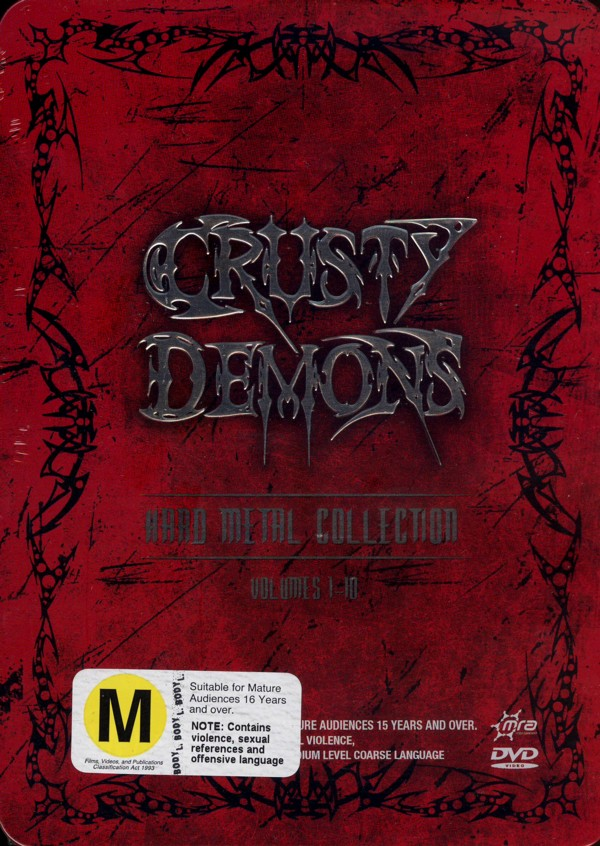 Crusty Demons - Hard Metal Collection: Vol. 1-10 (6 Disc Tin Set) on DVD image