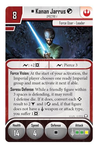 Star Wars: Imperial Assault: Ezra Bridger & Kanan Jarrus - Ally Pack image