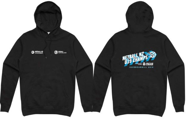 NNZ U19 Championship 2019 Black Hoodie (S)