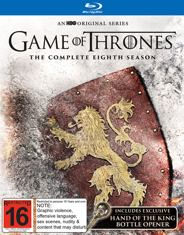 Game of Thrones Season 8 (Mighty Ape Exclusive) on Blu-ray