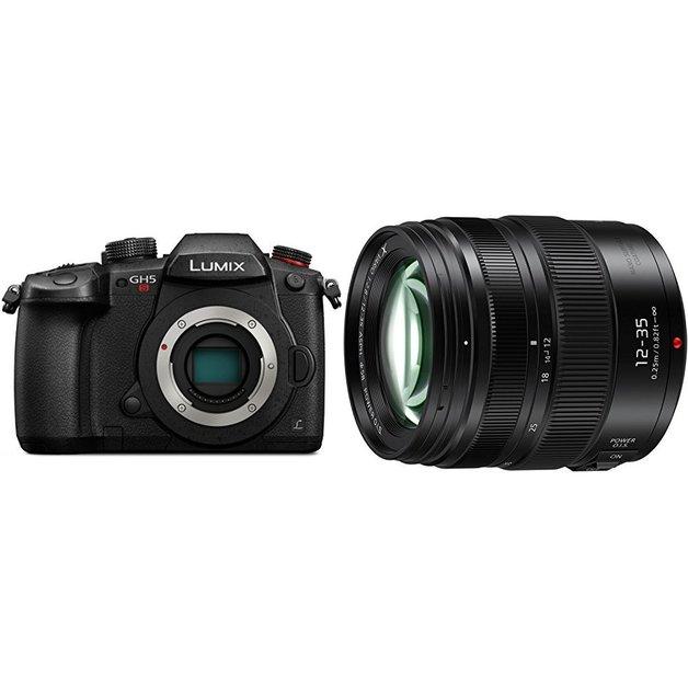 Panasonic: Lumix DMC-GH5S (12-35 II)- Mirrorless Digital Camera