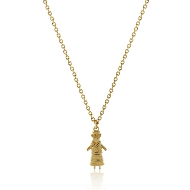 Bo + Bala: Worry Doll - Yellow Gold - Exclusive Style