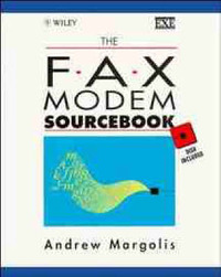 The Fax Modem Sourcebook by Andrew Margolis image
