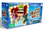 Buzz!: The Music Quiz with buzzers for PS2