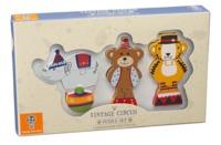 Orange Tree Toys: Vintage Circus - Mini Puzzle Set