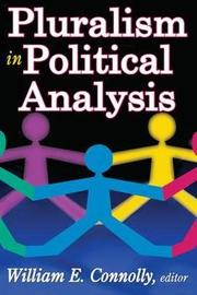 Pluralism in Political Analysis by William Connolly image