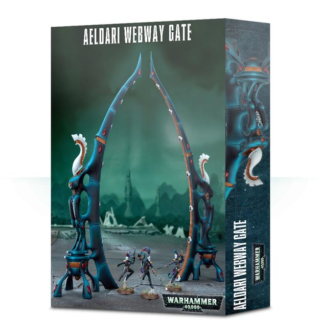 Warhammer 40,000 - Aeldari Webway Gate