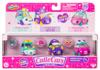 Shopkins: Cutie Car 3-Pack - Speedy Style