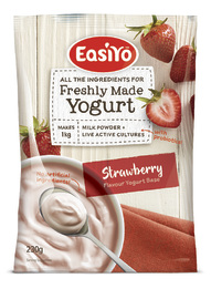 EasiYo Everyday Range Yogurt Base - Strawberry