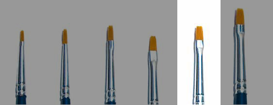 Italeri Synthetic Flat Brush 2