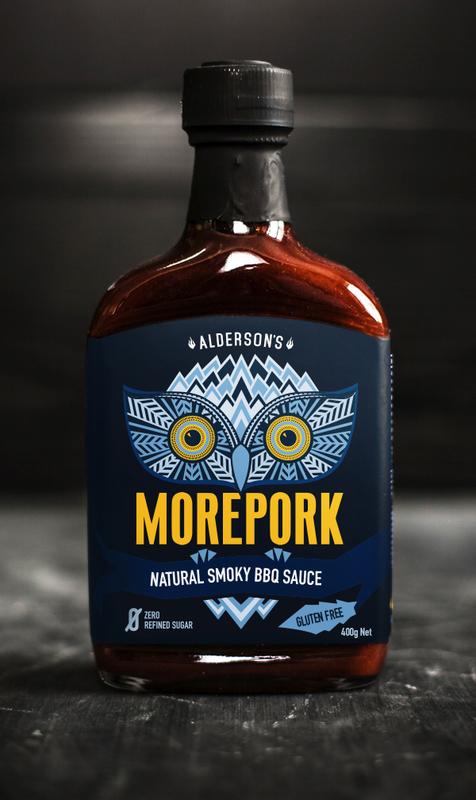 Alderson's Smoky Morepork BBQ Sauce (400g)