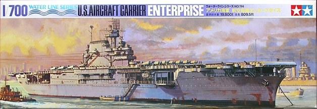Tamiya 1/700 US Enterprise Aircraft Carrier - Model Kit