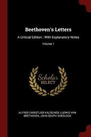Beethoven's Letters by Alfred Christlieb Kalischer image