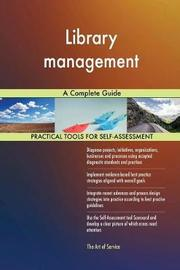 Library Management a Complete Guide by Gerardus Blokdyk image