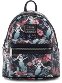 Loungefly: Disney Floral Ariel - Mini Backpack