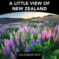 A Little View of New Zealand 2019 Mini Wall Calendar