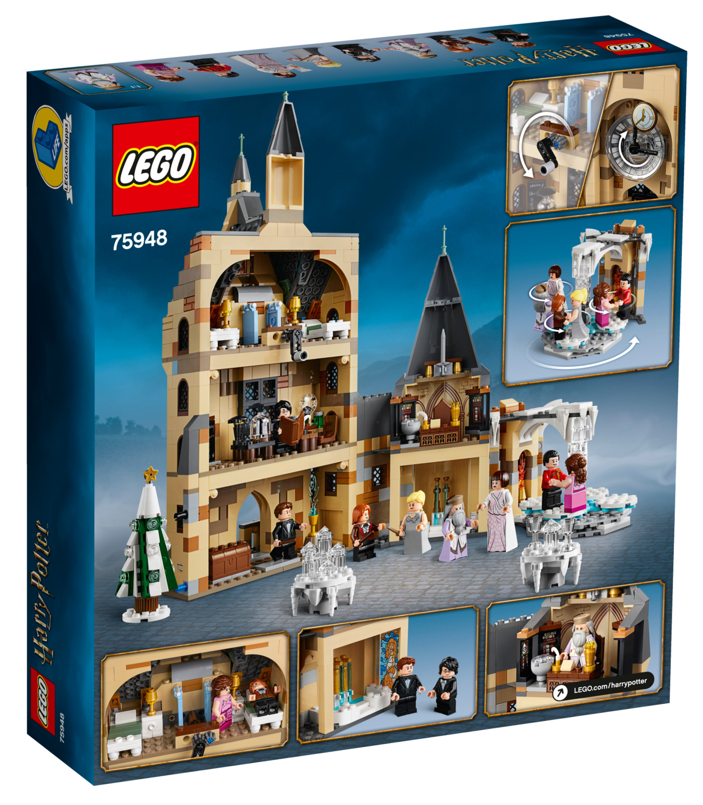 LEGO Harry Potter - Hogwarts Clock Tower (75948) image