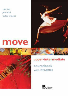 Move Upper Intermediate: Coursebook with CD-ROM by Jon Hird image