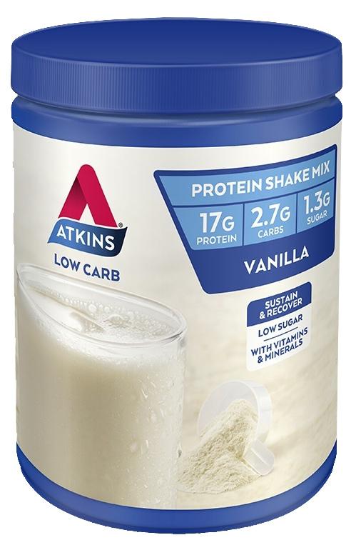 Atkins Low Carb Protein Shake Powder - Vanilla (310g) image