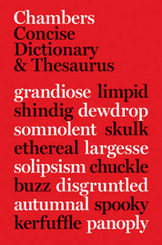 Chambers Concise Dictionary and Thesaurus image