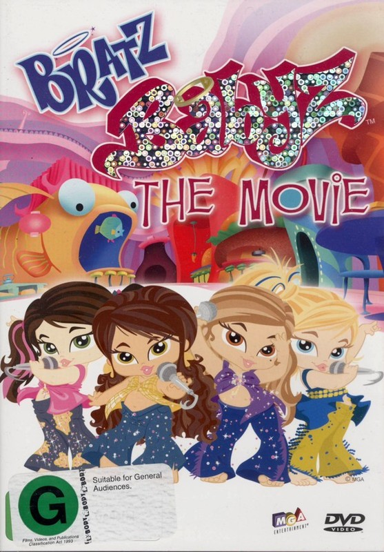 Bratz Babyz - The Movie on DVD