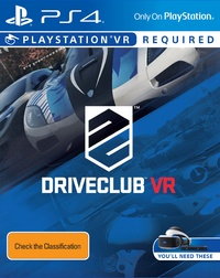 DriveClub VR for PS4