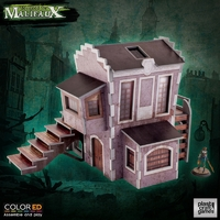 ColorED Scenery: Malifaux Downtown Building
