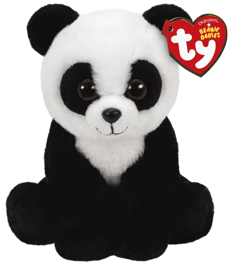 Ty Beanie Babies: Baboo Panda - Small Plush image