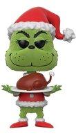 Dr Seuss: Santa Grinch (With Roast) - Pop! Vinyl Figure
