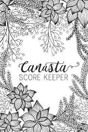 Black & White Canasta Score Keeper by Midori Press image