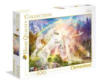 Clementoni: 500-Piece Puzzle - Sunset Unicorns