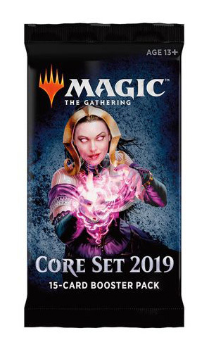 Magic The Gathering: Magic Core 2019 Single Booster (15 Cards) image