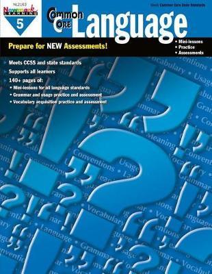 Common Core Practice Language Grade 5 image