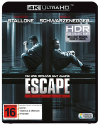 Escape Plan on UHD Blu-ray