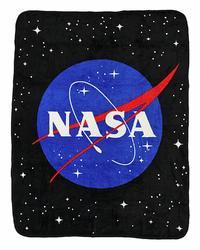 NASA - Coral Fleece Throw Blanket
