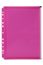 Marbig: Zip Binder Pocket - Pink