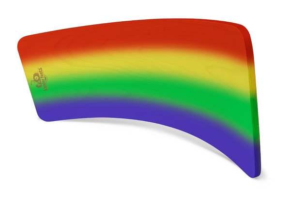 Kinderfeets: Kinderboard - Multi-Purpose Toy (Rainbow