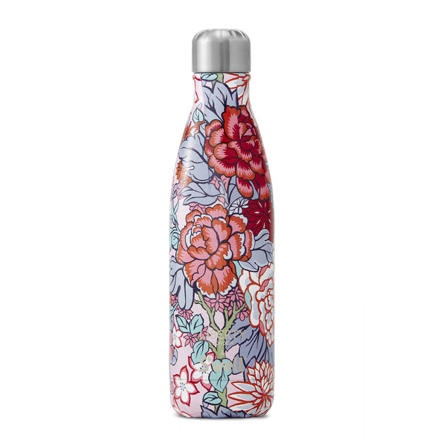 S'Well: Liberty Collection Insulated Bottle - Peony Branch (500ml)