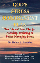 God's Stress Management Plan by Helen A. Mendes image