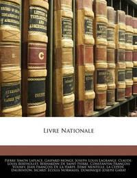 Livre Nationale by Gaspard Monge