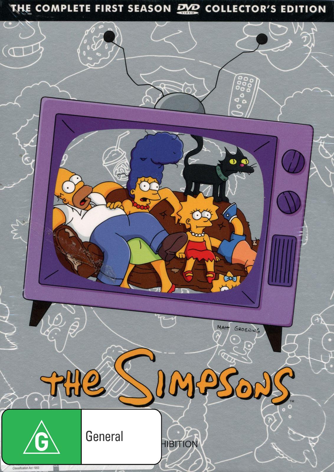 The Simpsons - Season 1 on DVD image